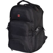 "Swiss Gear® 17.3"" Laptop Backpack, Black"
