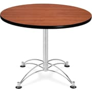 "OFM 29 1/2"" x 36"" x 36"" Round Laminate Multi-Purpose Table, Cherry"