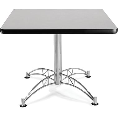 OFM 29 1/2in. x 36in. x 36in. Square Laminate Multi-Purpose Table, Gray Nebula