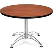 "OFM 29 1/2"" x 42 1/4"" x 42 1/4"" Round Laminate Multi-Purpose Table, Cherry"
