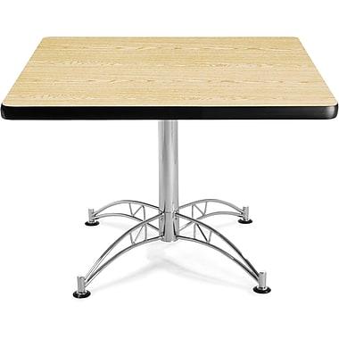 OFM 29 1/2in. x 42 1/4in. x 42 1/4in. Square Laminate Multi-Purpose Table, Oak