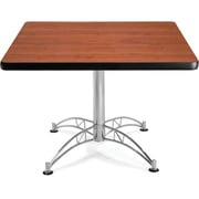OFM 29 1/2 x 42 1/4 x 42 1/4 Square Laminate Multi-Purpose Table, Cherry