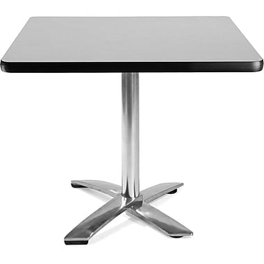 OFM 29 1/2in. x 35 3/4in. x 35 3/4in. Square Laminate Flip-Top Multi-Purpose Table, Gray Nebula