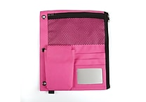 Staples Full Binder Pencil Pouch, Pink (24202)