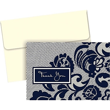 Great Papers® Lovely Lace Thank You Notes, 50/Pack