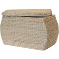 Natural Fibers Rectangle Rush Ottoman, Natural