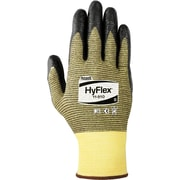 Ansell HyFlex® 11-510 Black Nitrile Gloves, Size Group 7