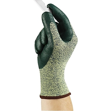 Ansell HyFlex® 11-511 Nitrile Gloves, Green, Size Group 9