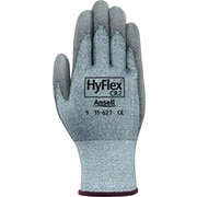 Ansell 627-11 DSM Dyneema® and Lycra®/Polyurethane Gray Cut Resistant Gloves, Size Group 11