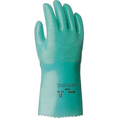 Ansell Sol-Knit® 39-122 Nitrile Gloves, Size Group 8