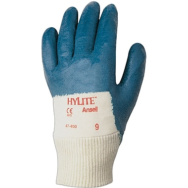 Ansell HyLite® 47-400 Nitrile Gloves, Size Group 7