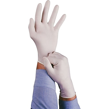Ansell Conform® 69-210 Natural Rubber Latex Lightly Powdered Disposable Gloves, Medium