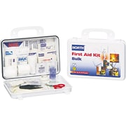 North 068-019702-0002L Plastic First Aid Kit 25 Person
