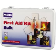 North 0680197030002L Metal First Aid Kit 25 Person