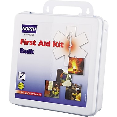 North® Bulk First Aid Kit, 50 Person