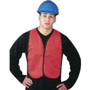 North Safety® TV50 Hi-Viz Economical Mesh Traffic Vest, XL