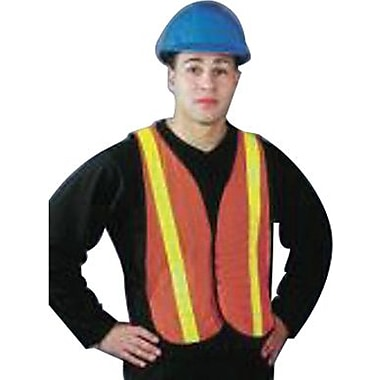 North Safety® TV55RS Hi-Viz Omni-Brite™ Reflective Vest, One Size Fits All