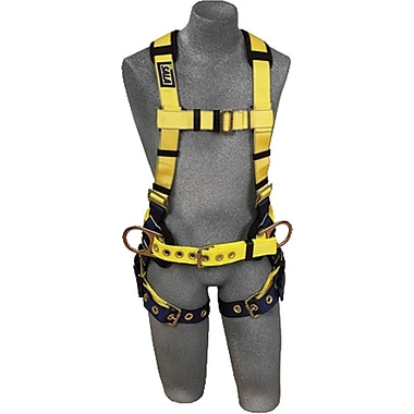 DBI/Sala® Delta No-Tangle™ Polyester Construction Harness, XL