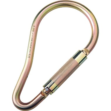 DBI/Sala® Saflok® Steel Carabiner, 3600 lbs., 2 3/16in.