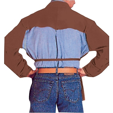 Anchor Brand® Lava Brown Split Cowhide Cape Sleeve, Medium