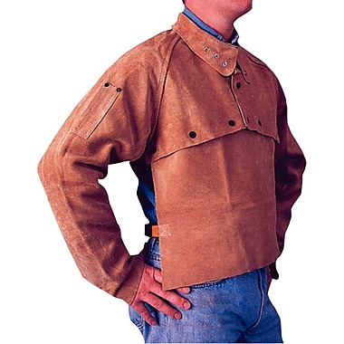 Anchor Brand® Golden  Brown Leather  Cape Sleeves