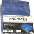 Anchor Brand® Multiple Use Tarpaulin, 12'(L) x 9'(W)