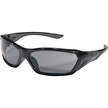 MCR Safety® ForceFlex® FF122 ANSI Z87 Protective Eyewear, Gray/Black