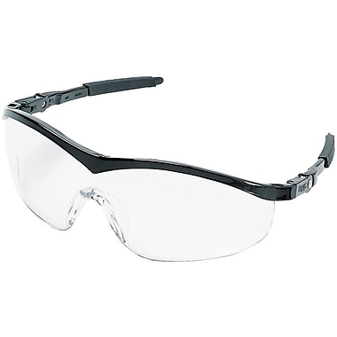 MCR Safety® Storm® ST110 ANSI Z87 Protective Eyewear, Clear/Black