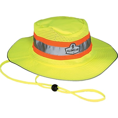Ergodyne® GloWear® 8935 Hi-Vis Ranger Hats, Small/Medium