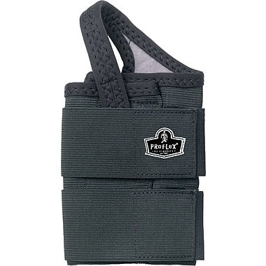 Ergodyne ProFlex® 4010 Double Strap Right Wrist Support, Large, Black
