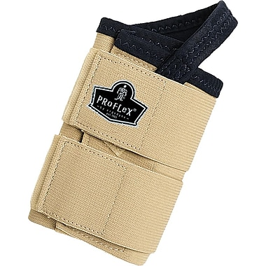 Ergodyne ProFlex® 4010 Double Strap Tan Left Wrist Support, Medium