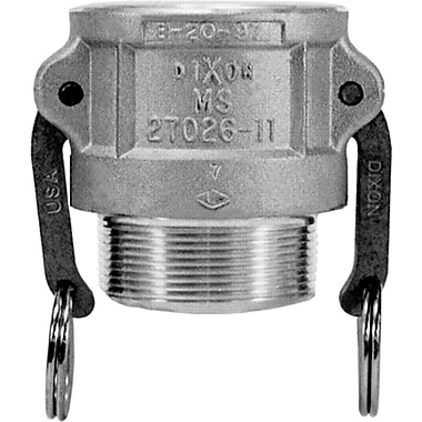 Dixon™ Valve 300 Aluminum Type B Coupler, 3in. MNPT x 3in. Female Quick