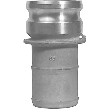 Dixon™ Valve 200 Aluminum Type E Boss-Lock Adapter, 2in. Male Quick x 2in. Male Barb/Hose