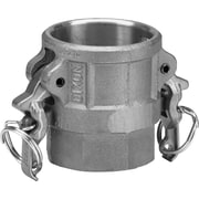 "Dixon™ Valve AD300 Aluminum Type D Boss-Lock Coupler, 3"" FNPT x 3"" Female Quick"