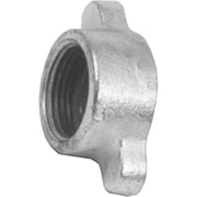 "Dixon™ Valve DLB12 Malleable Iron Ground Joint Air Hammer Coupling Wing Nut, 1 47/64""-8 TPI"