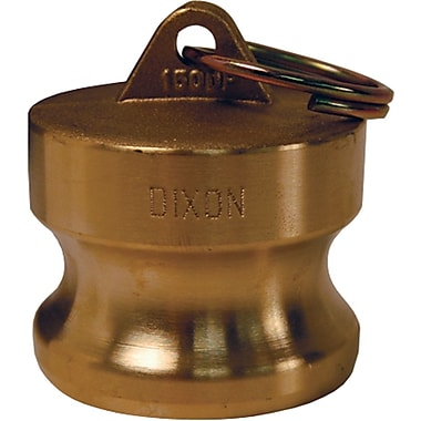 Dixon™ Valve G300 Forged Brass Type DP Global Dust Plug, 3in. Male Quick