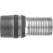 "Dixon™ Valve ST5 Unplated Steel Combination Nipple, 3/4"" MNPT x 3/4"" Male Barb/Hose"