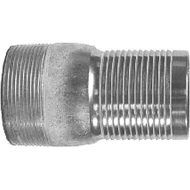 Dixon™ Valve ST40 Unplated Steel Combination Nipple, 4in. MNPT x 4in. Male Barb/Hose