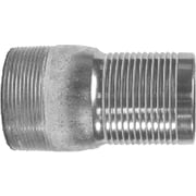 "Dixon™ Valve ST35 Unplated Steel Combination Nipple, 3"" MNPT x 3"" Male Barb/Hose"