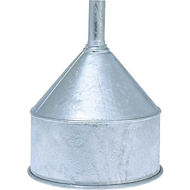 Dutton Lainson® Galvanized Steel Funnel, 8 qt