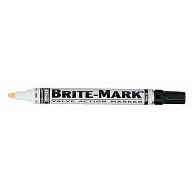 BRITE-MARK® Paint Marker, White