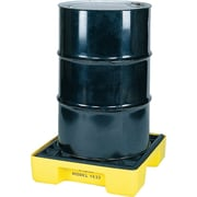 "Eagle Mfg 6 1/2""(H) x 26""(W) x 26""(D) Single Drum Modular Spill Platform, 12 gal"