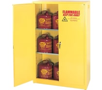 Safety Cabinets, Shelves and Cans