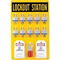 Brady® 65680 Ten Lock Station