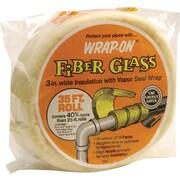 """Wrap-On® 16503 Pipe Insulation Wrap, 35'(L) x 3""""(W)"""