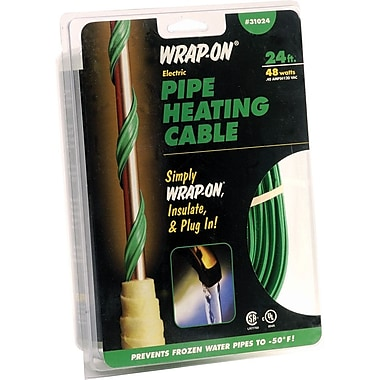Wrap-On® 31024 Pipe Heating Cable, 24'