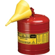 Justrite® 7120110 Type I Safety Can, 2 gal