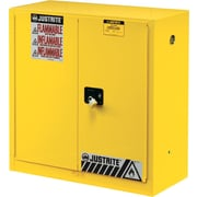 Justrite® 894520 Safety Cabinet, 45 gal