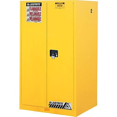 Justrite® 899020 Safety Cabinet, 90 gal
