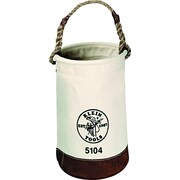 "Klein Tools® Leather-Bottom Canvas Bucket, 1 Compartment, 17""(H)"